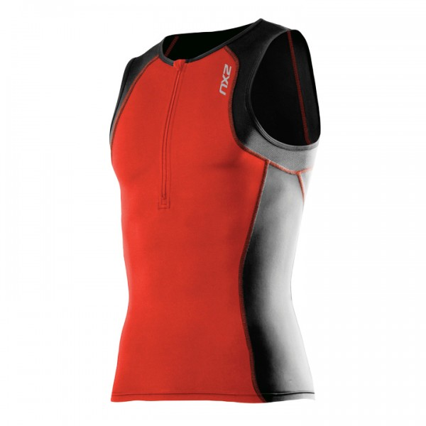 Body triathlon 2XU G:2 Active arancione-nero