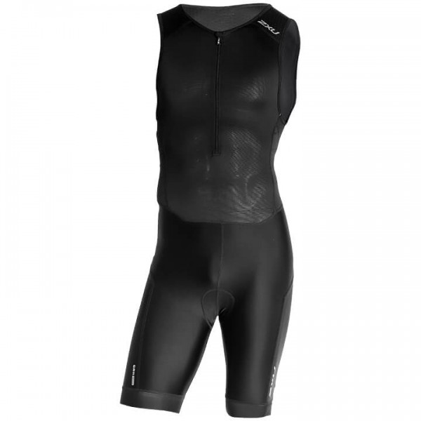 Body triathlon smanicato 2XU Perform nero