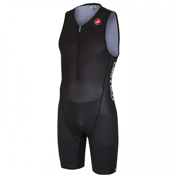 Body triathlon smanicato CASTELLI Core 2 nero