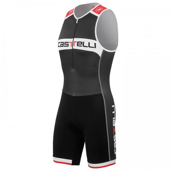 Body triathlon smanicato CASTELLI Core nero