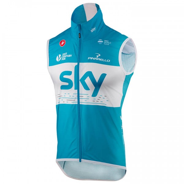 Gilet antivento Team Sky 2018