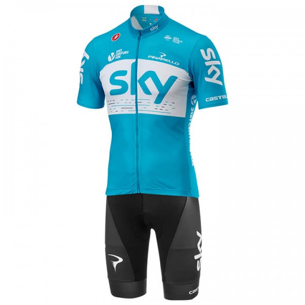 Set (2 articoli) TEAM SKY Fan Training 2018