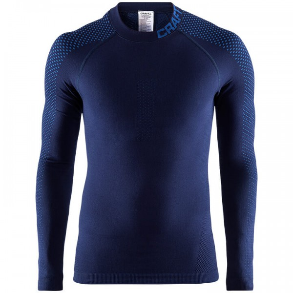 Maglia intima manica lunga CRAFT Warm Intensity blu scuro