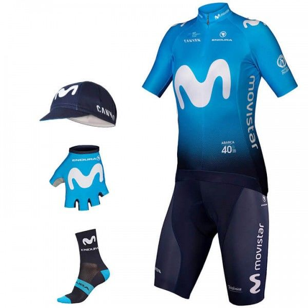 Maxi-Set (5 articoli) MOVISTAR TEAM 2019