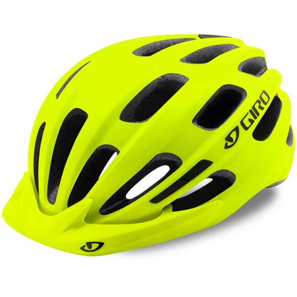 Casco ciclismo GIRO Register 2019 giallo neon