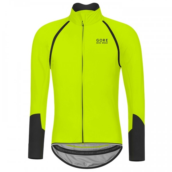 Light jacket/giacca GORE Power WS SO Zipp-Off giallo neon - nero