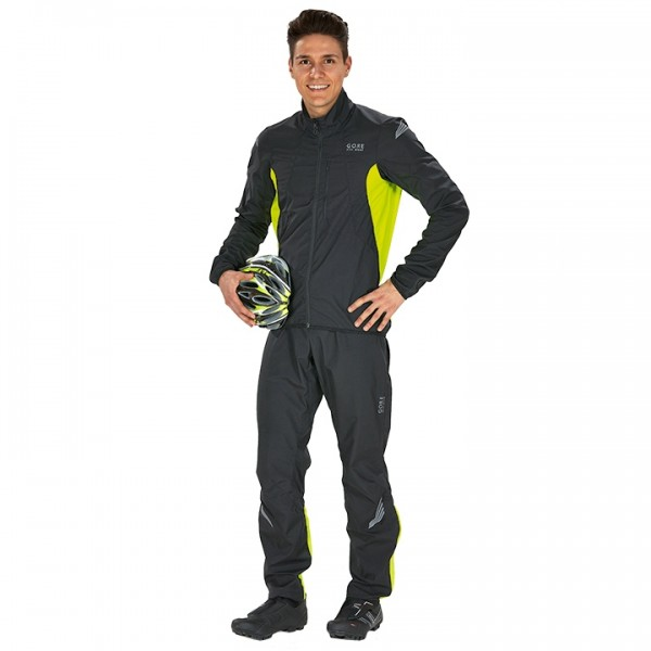 Set (2 articoli) GORE BIKE WEAR Element WS AS schw.-neongelb