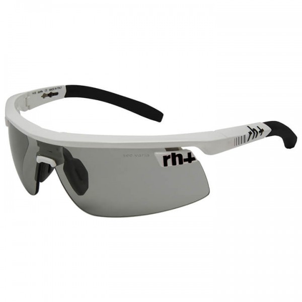 Occhiali ciclismo rh+ Olympo Triple Fit Evo 2019 photochromic bianco - nero