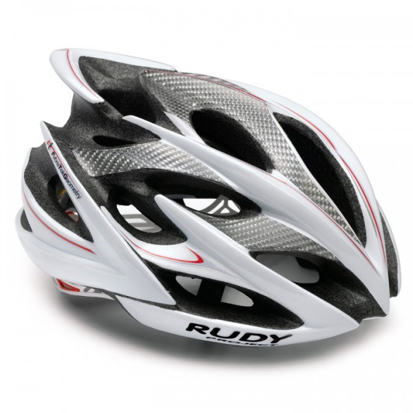 Casco da cicliso RUDY PROJECT Windmax white-silver shiny