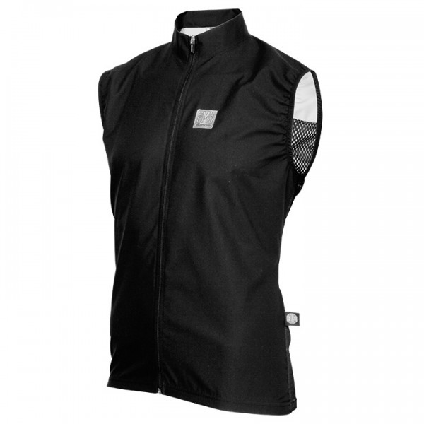 Gilet antivento SANTINI Active nero