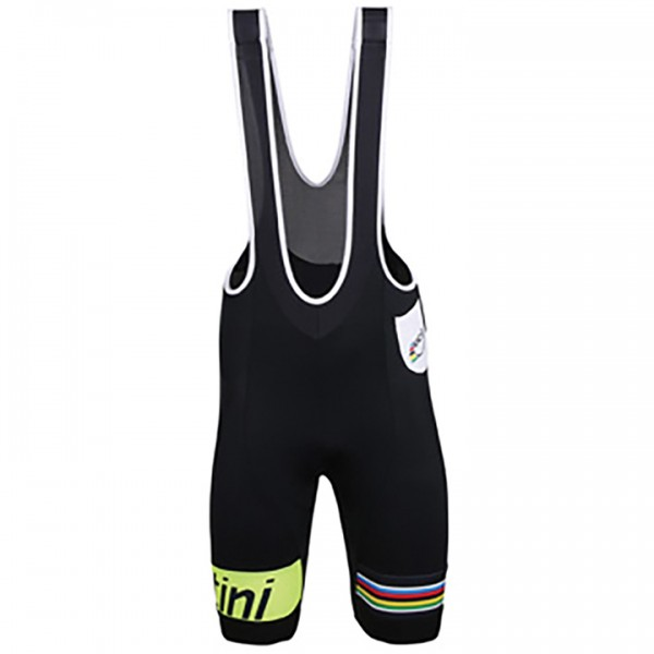 Pantaloncino con bretelle UCI WORLD CHAMPION LEADER Rainbow Line 2015