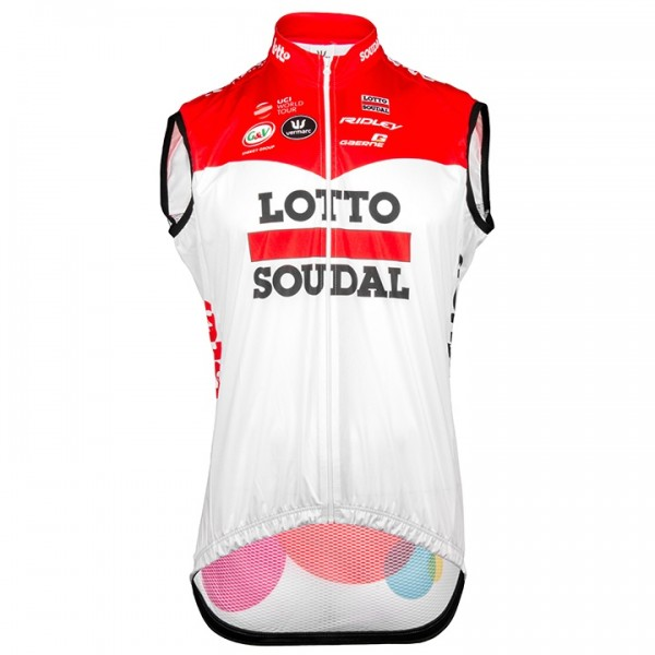Gilet antivento LOTTO SOUDAL 2018
