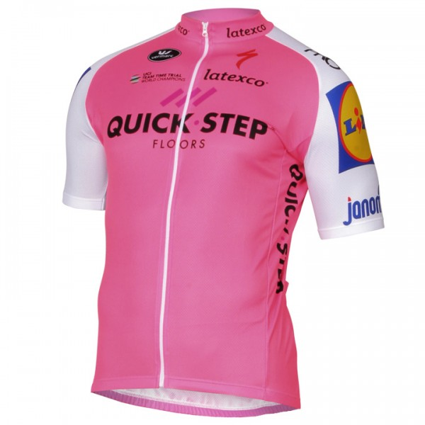 Maglia manica corta QUICK-STEP FLOORS Limited Edition 2017